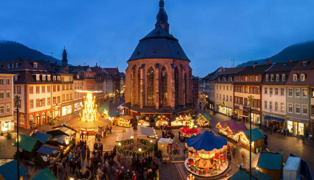 Weihnachtsmarkt Heilbronn.Weihnachtsmarkt Heidelberg Und Bad Wimpfen Reisen Sie Mit