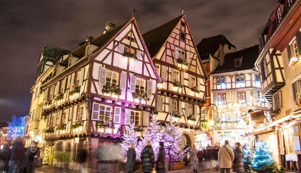 Colmar Weihnachtsmarkt.Weihnachtsmarkt Colmar Elsass Aufenth Ca 4 5 Std Reisen Sie